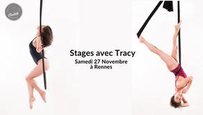 27 Novembre : Stages avec Tracy Tagada