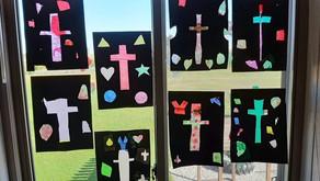2nd/3rd grade Window Art