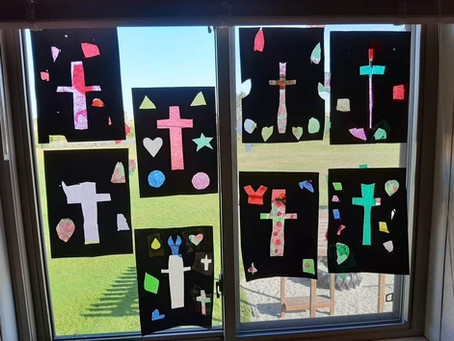 2nd/3rd grade Window Art