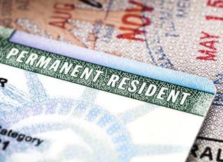 ¿Cuánto cuesta la residencia permanente/Green Card?