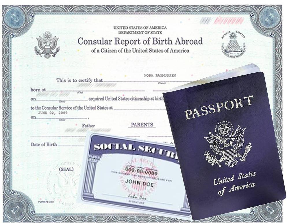 Ciudadania americana para menores, pasaporte y seguro social
