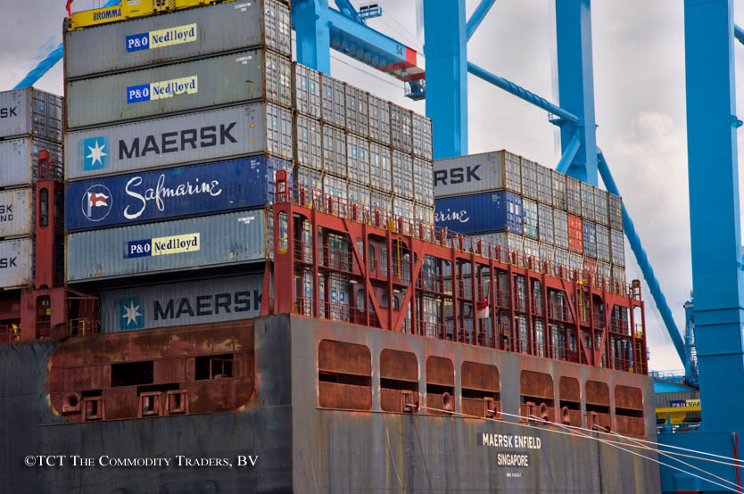 Containers at APM Terminal