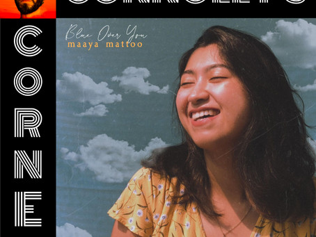 𝗖𝗼𝗻𝗻𝗼𝗹𝗹𝘆'𝘀 𝗖𝗼𝗿𝗻𝗲𝗿 - this week: Blue Over You by Maaya Mattoo