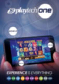 "Poster that was made for ""Playtech - source of success online gaming company."