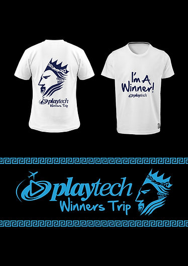 """Poster that was made for """"Playtech - source of success online gaming company."""