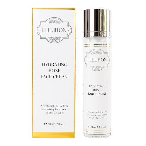 FLEURON - Hydrating Rose Face Cream 50ml