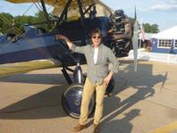 Tom Cruise & Our Stearman
