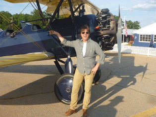 Tom Cruise & Our Stearman