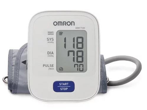 Omron Blood Pressure Monitor (HEM7120)