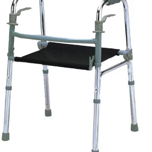 Foldable Walking Frame with Seat