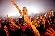 Music Revolution -  Festival crowd-girl