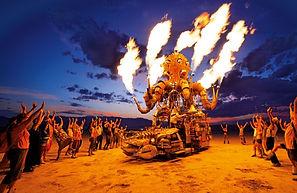 Fans Set The Revolution Big 7 On Fire -