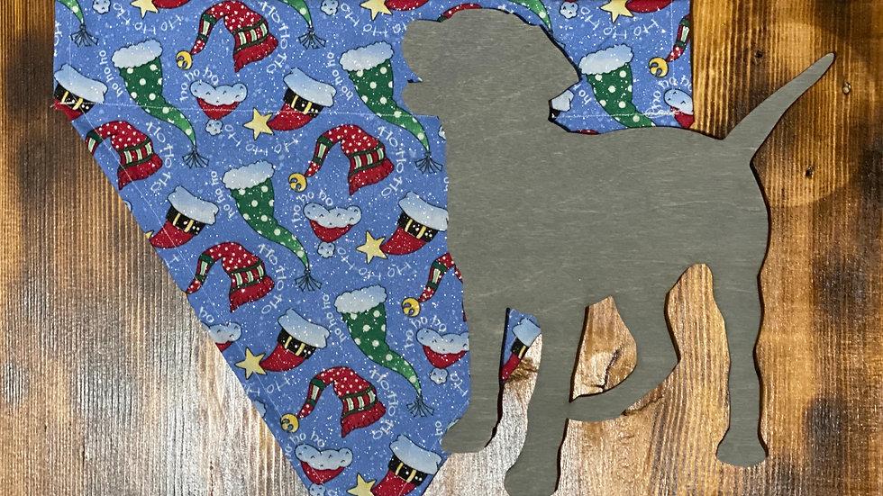 Christmas Collar Cape