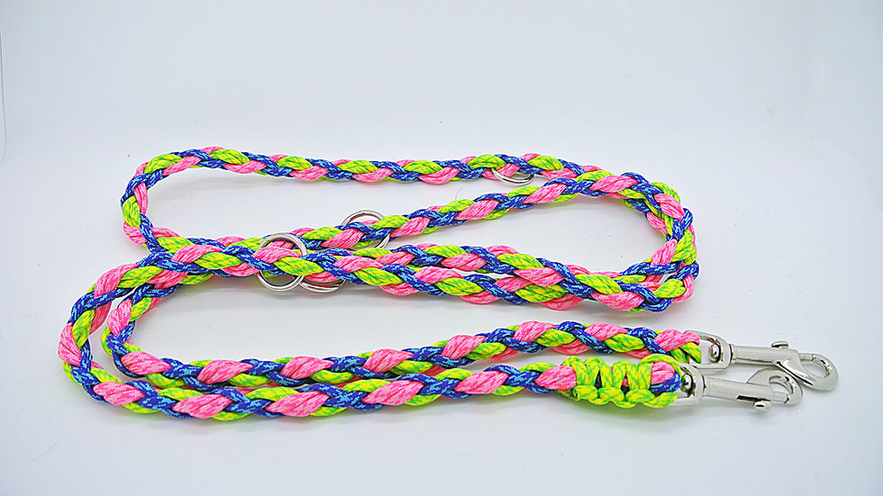 Neon Small Breed Multipurpose Leashes