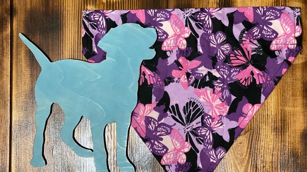 Purple Butterflies Collar Capes