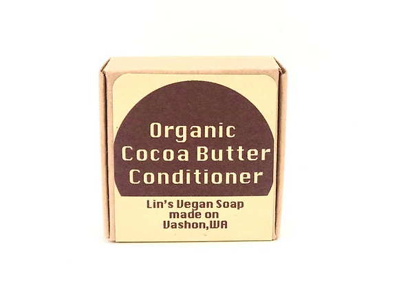 Organic Cocoa Butter Hair Conditioner Bar