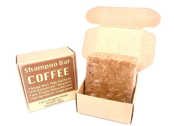 Soap Nut Shampoo Bar - Coffee Seed Oil
