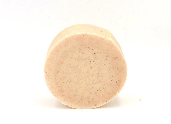 Ground Walnut Shell Body Scrub Soap - Eucalyptus