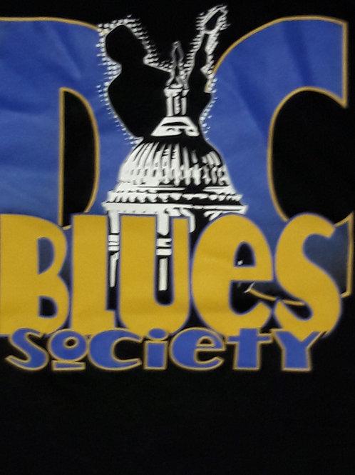 Black DC Blues Society T Shirt