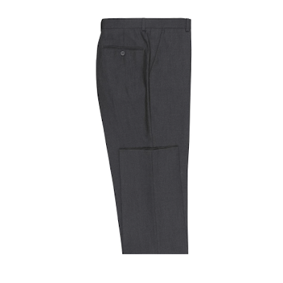 Charcoal Micro-Tech Slacks