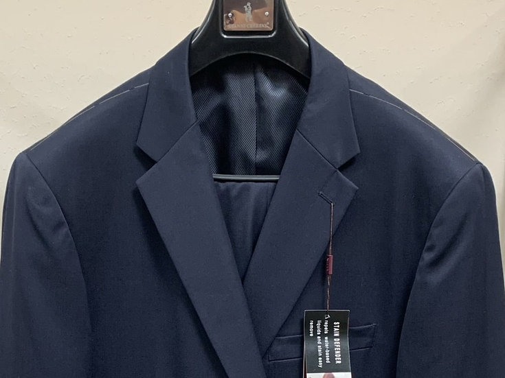 Solid Navy Suit - Cianni Cellini