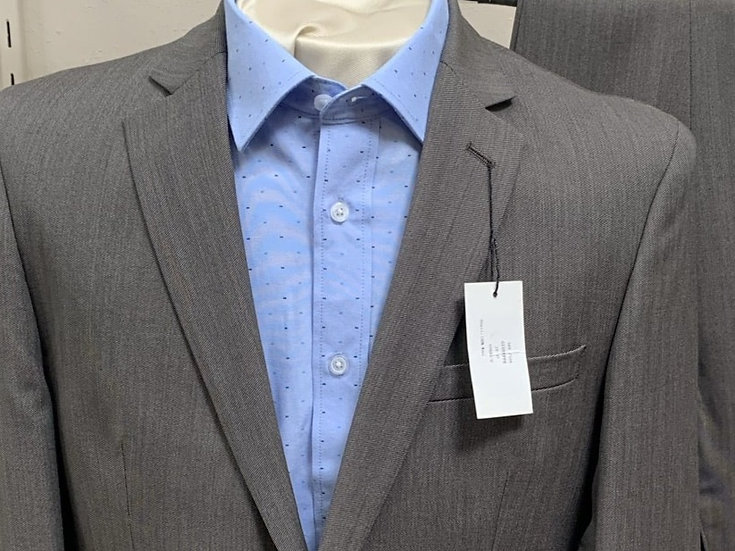 Taupe Cross Grain Suit - ItalUomo