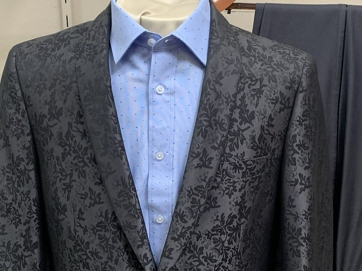 Paisley Charcoal Shawl Tuxedo