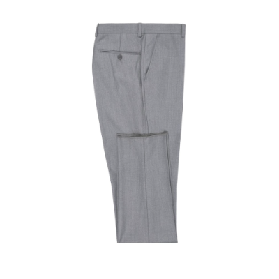 Grey Wool Slacks