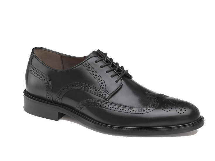 Daley Wing Tip in Black