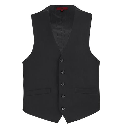 Black Essential Vest