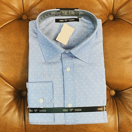 Blue Diamond Dress Shirt