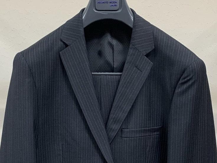 Navy Pinstripe Suit - Pronto Moda