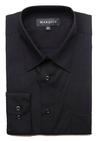 Black Classic Dress Shirt