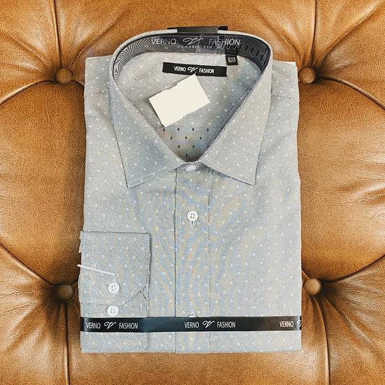 Charcoal Diamond Dress Shirt