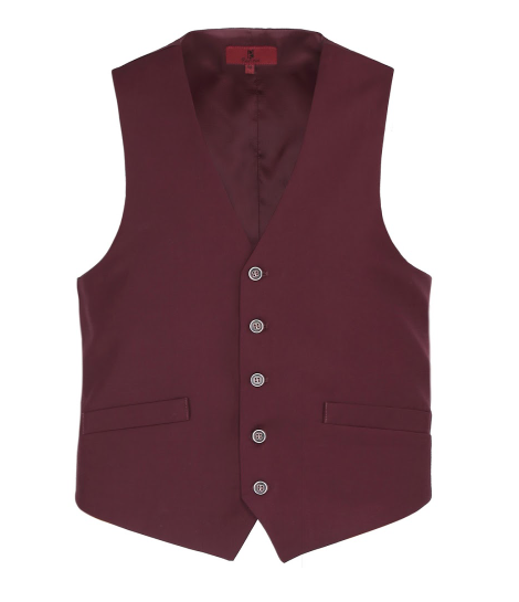 Burgundy Essential Vest