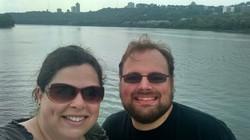 Riverboat cruise in the rain!