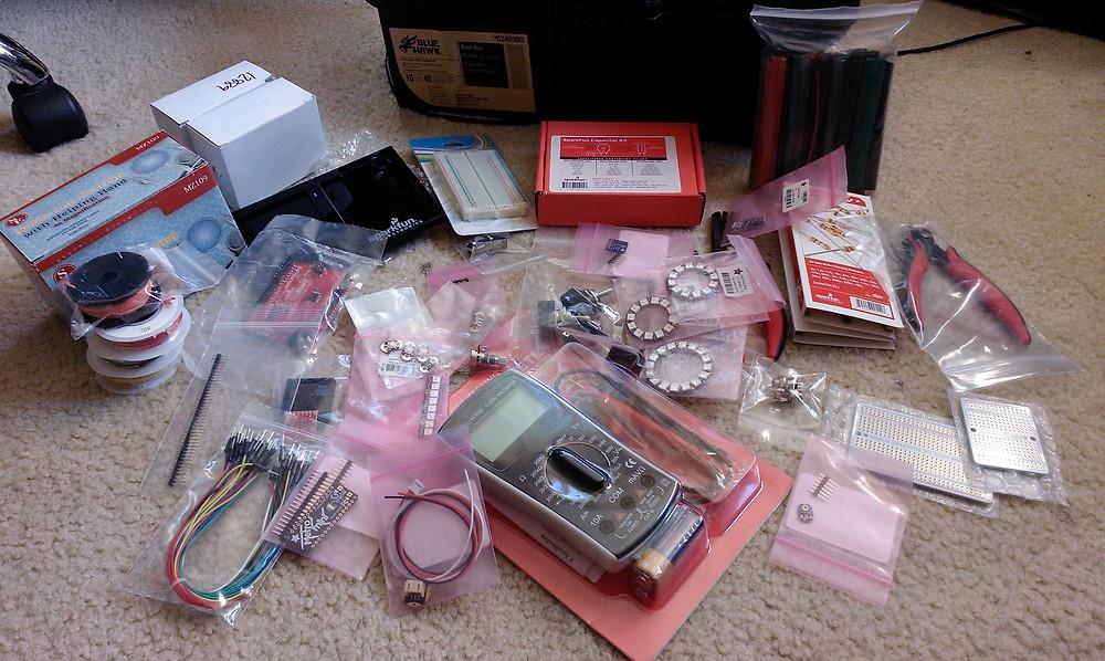 Big pile of stuff