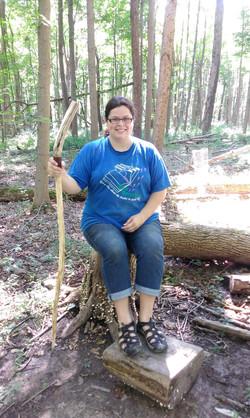 Homemade Walking Stick!