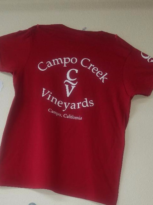 Women's T-Shirts- Campo Creek Vineyards