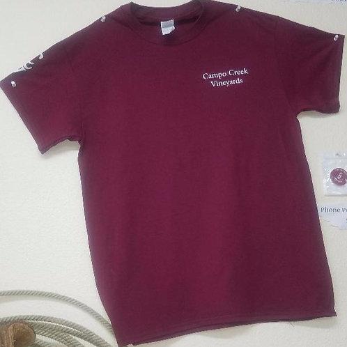 Men's T-Shirt- Campo Creek Vineyards