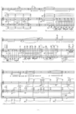 Sheet music for solo and piano (Music engraving)