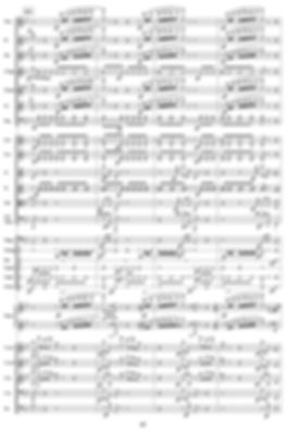 Sheet music for orchestral score (Music engraving)