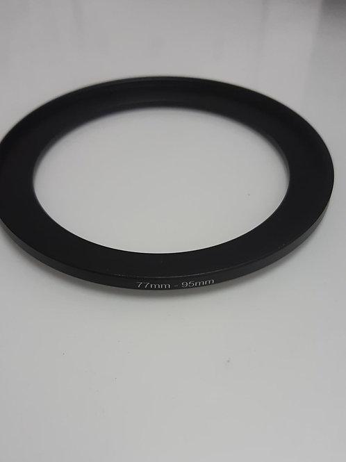 Redukční kroužek pro filtr 95 mm na objektiv 77 mm