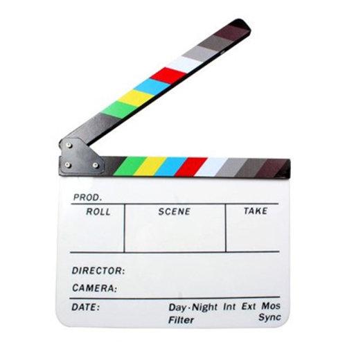 Filmová klapka,bílá