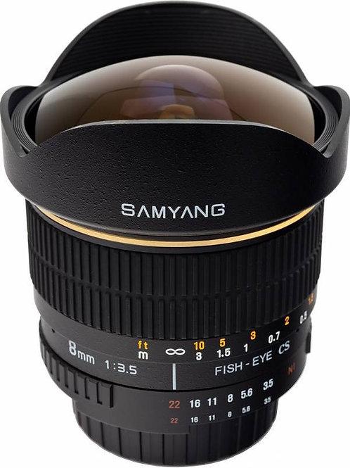 Objektiv Samyang 8 mm Canon EF APS-C