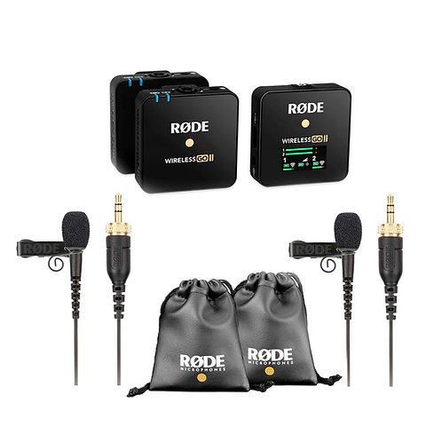 RODE Wireless Go II + RODELINK Lav set