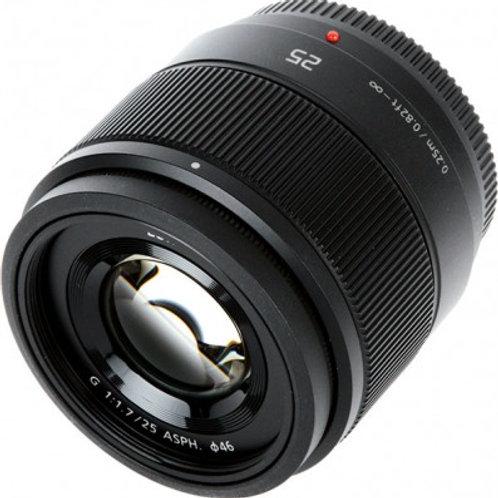 Objektiv Panasonic 25mm, f/1.7