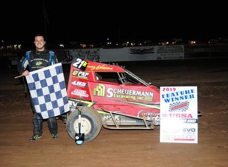 Ground Breaker to TK; Harron 270 Micro Sprint Winner