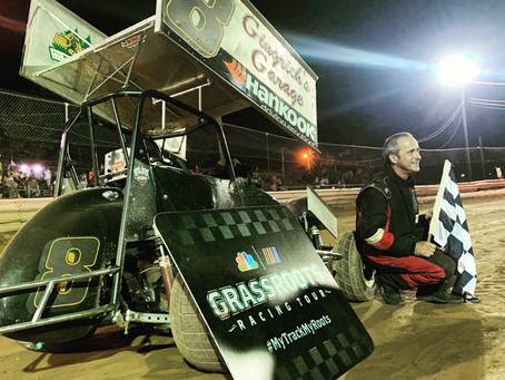 Gingrich, Shaw, and Graby Winners on July 19