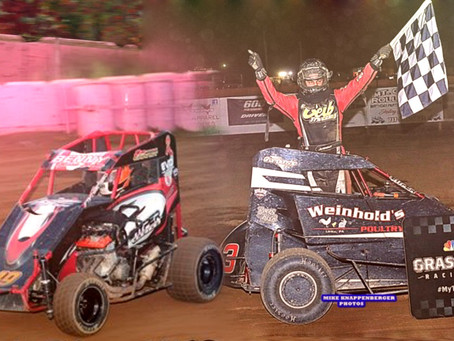 Champions Maurer and Snyder enter for Groff; Earnst Final start will be National 30